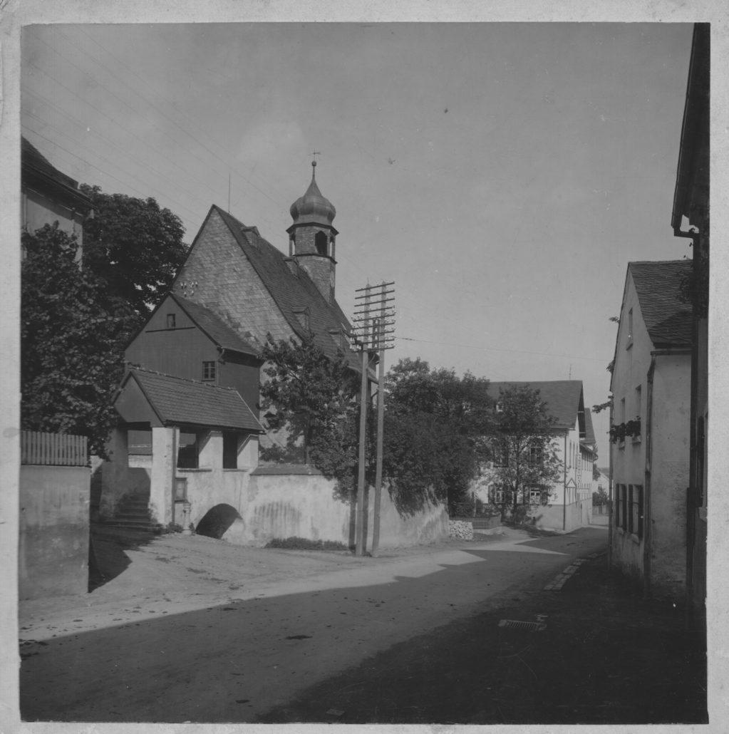 Kirche St. Leonhard 1950