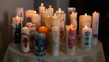 Gott zündet ein Licht an in uns ...